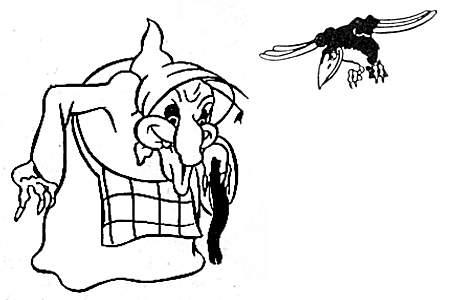 satirisk tegning af lars løkke rasmussen