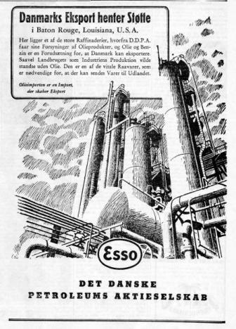 """d2a38e536eb8 Endnu en annonce fra morgenavisen """"København"""" for 29. oktober 1947.  Annoncen fylder en kvart side i avisen"""